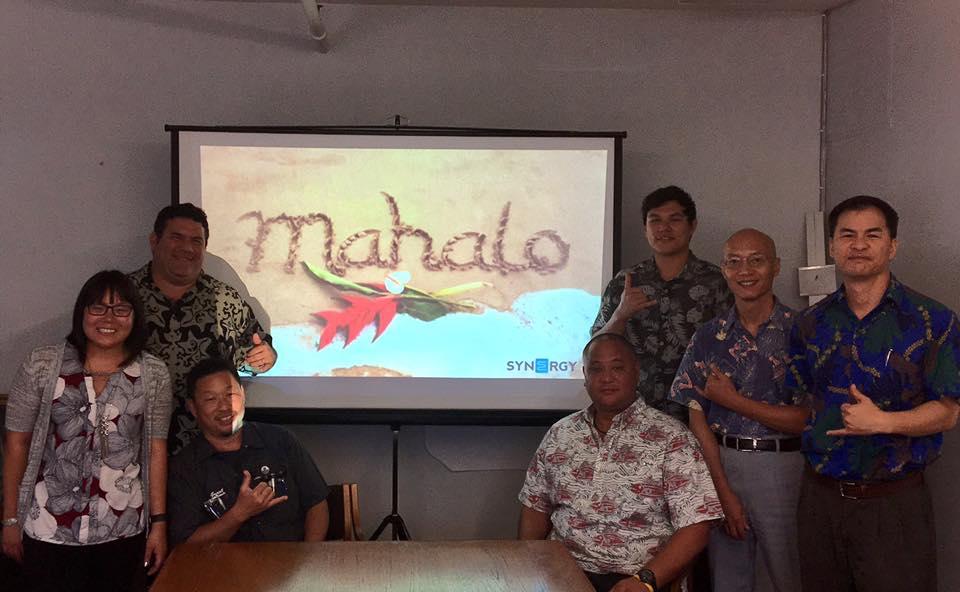 Synergy Visits Oahu
