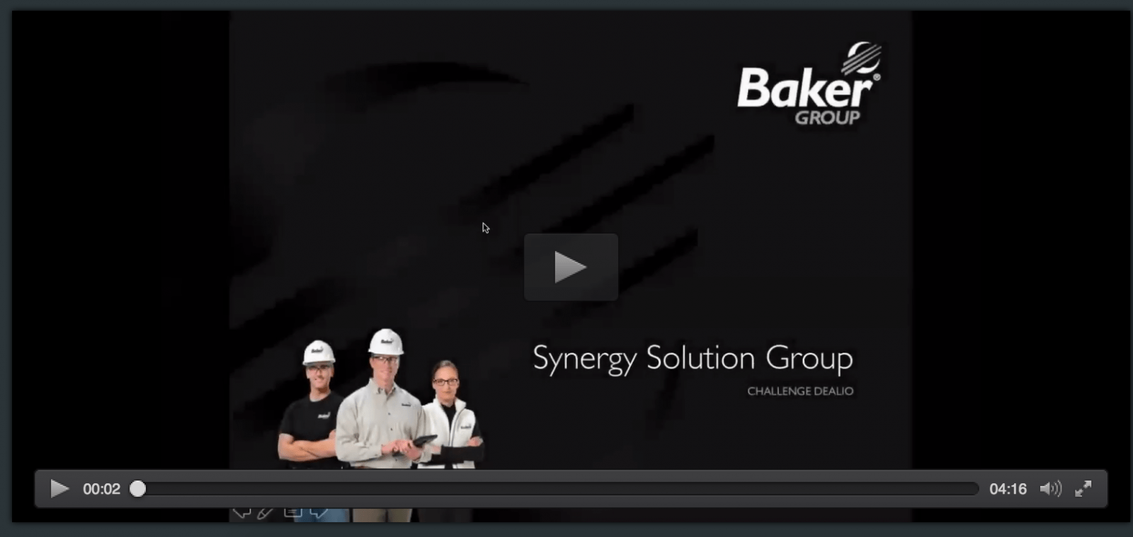 Baker Group Accepts Synergy Challenge