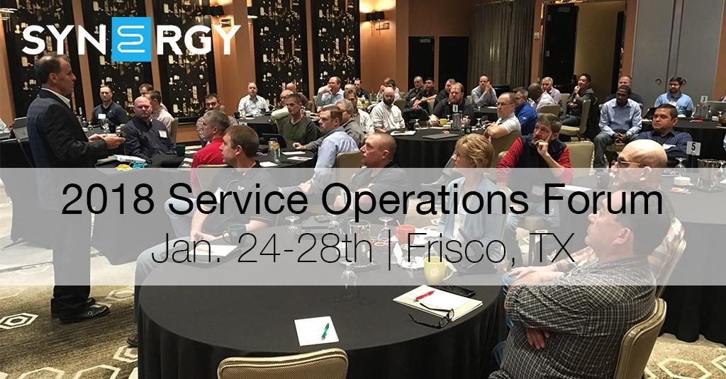 Five Reasons to Attend the Service Operations Forum