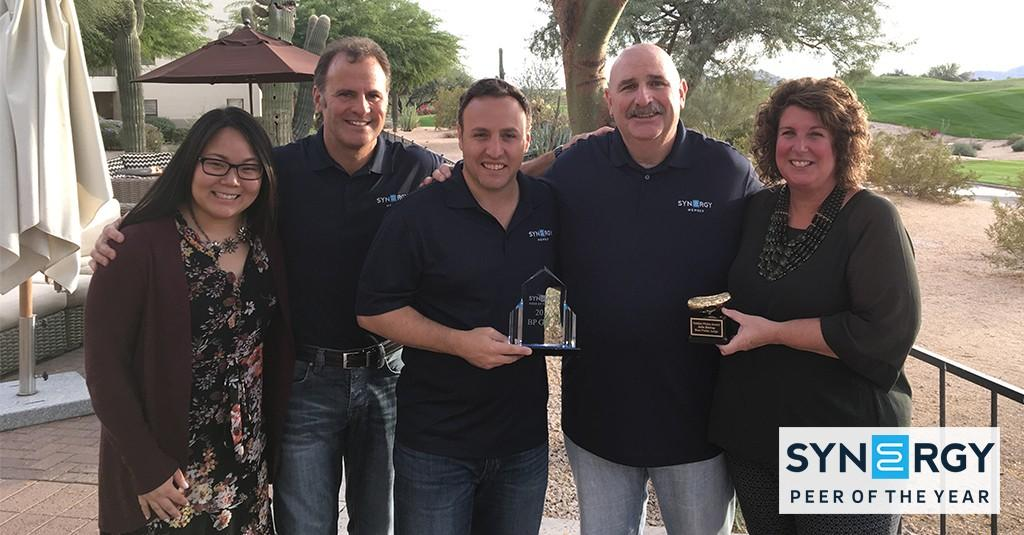The BP Group Receives 2017 Peer of the Year Award