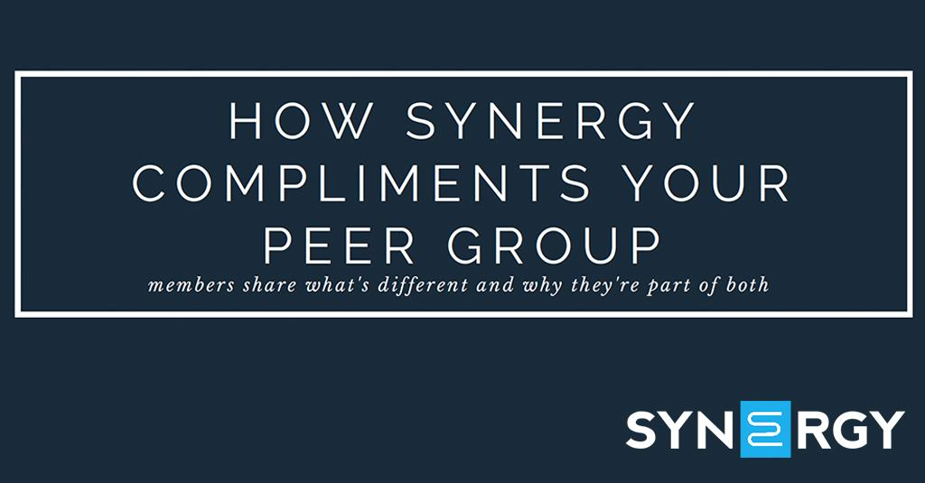 How Synergy Compliments Your Peer Group