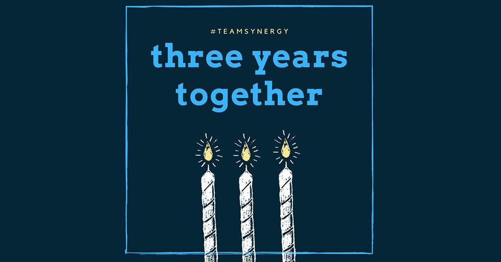 Synergy Celebrates Three Years Together!