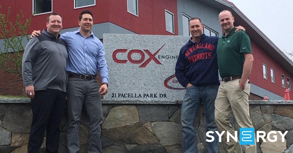 Guardian Visits Cox Engineering