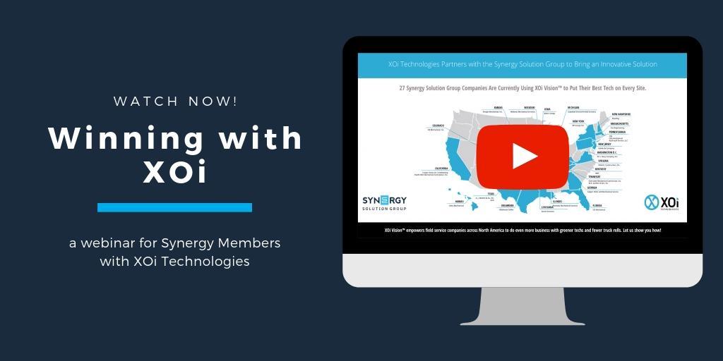 Synergy Hosts XOi Users Group Webinar