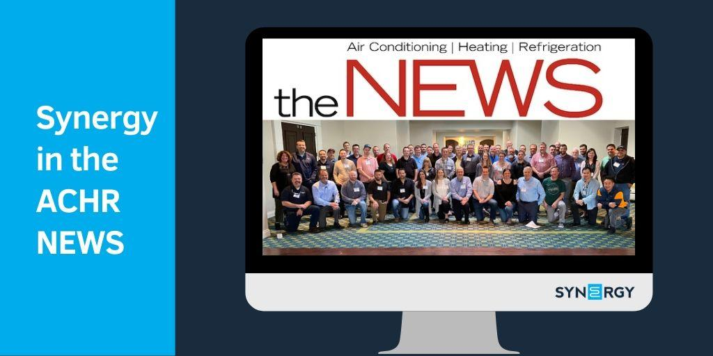 Synergy Featured in ACHR NEWS