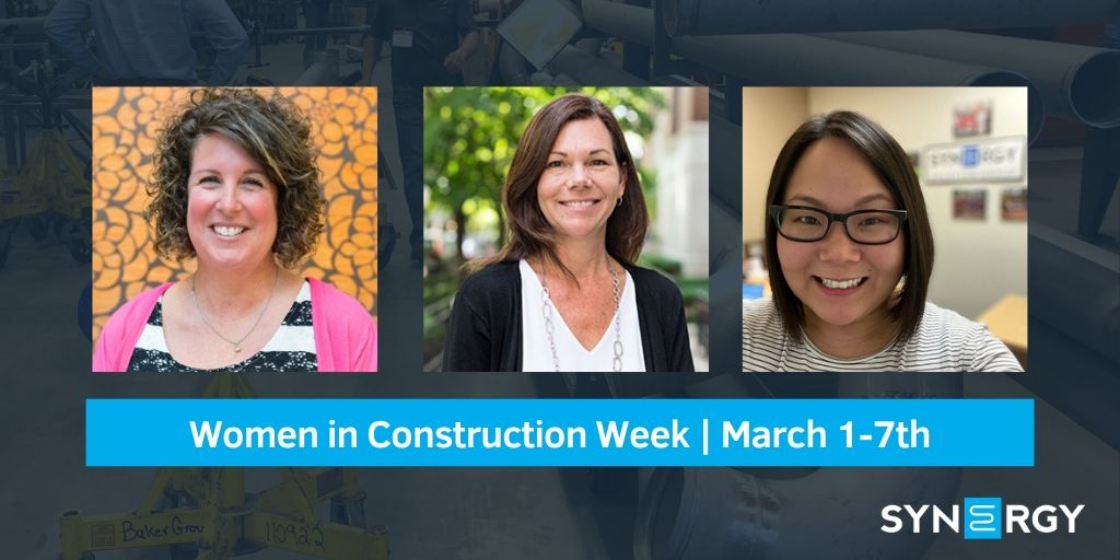 Synergy Celebrates Women in Construction Week