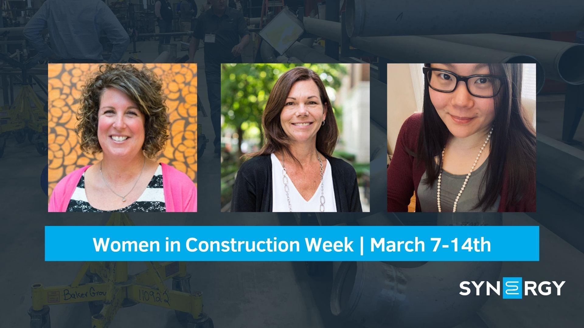 Synergy Celebrates Women in Construction Week