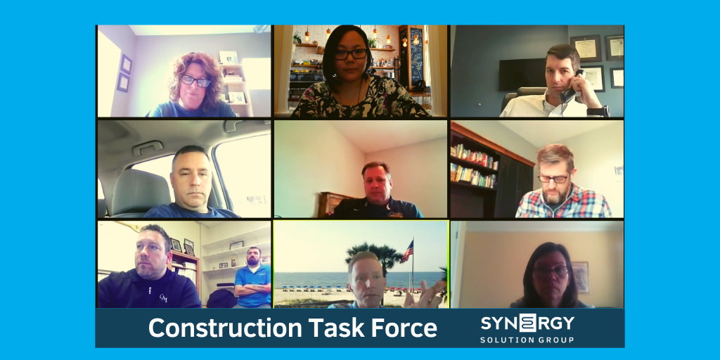 Synergy to Host Construction Operations Webinar Series