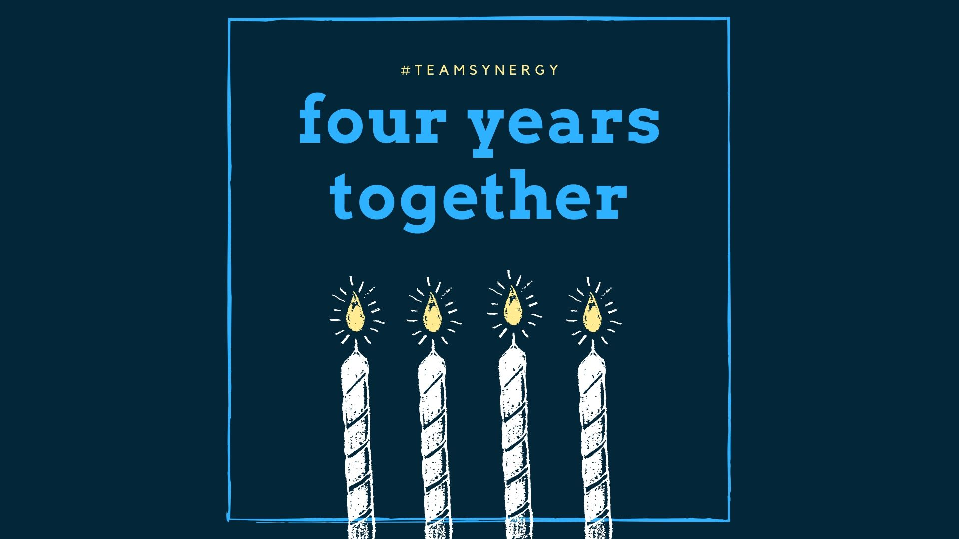 Synergy Celebrates Four Years Together