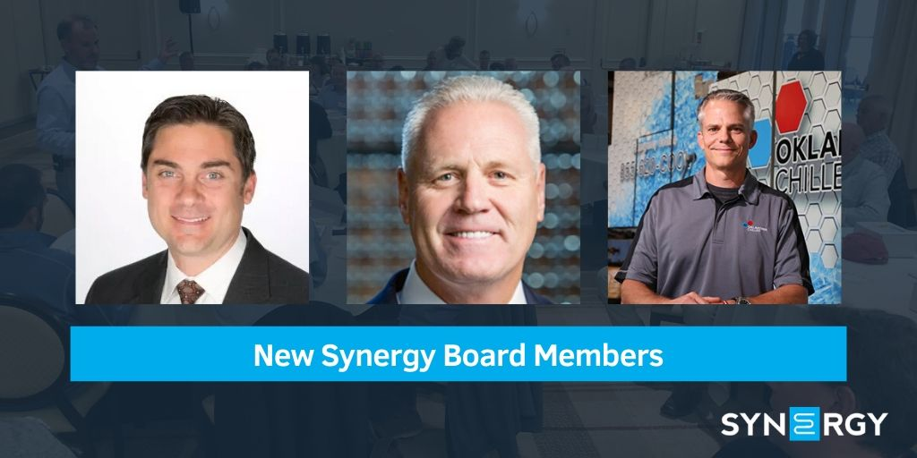 Welcome New Synergy Board Members