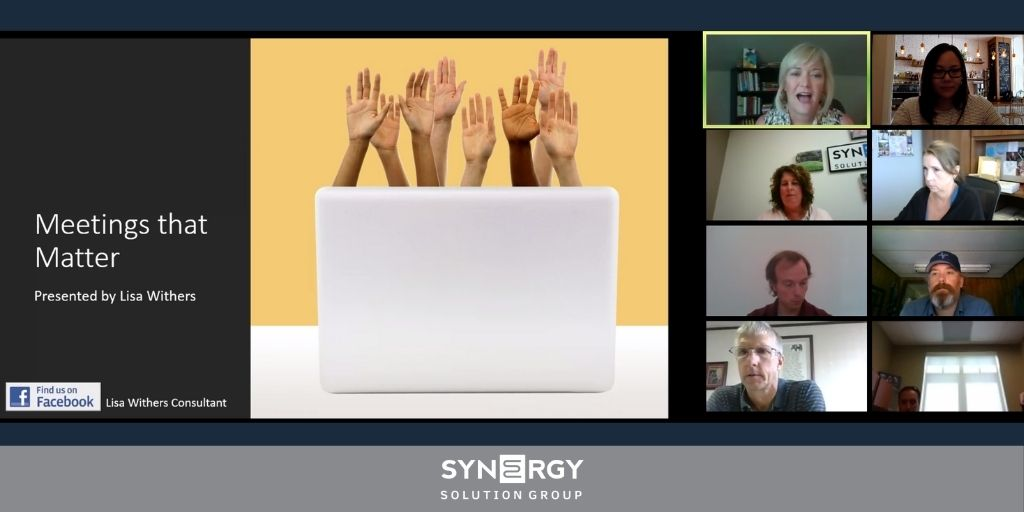 Synergy Hosts Meetings That Matter with Lisa Withers