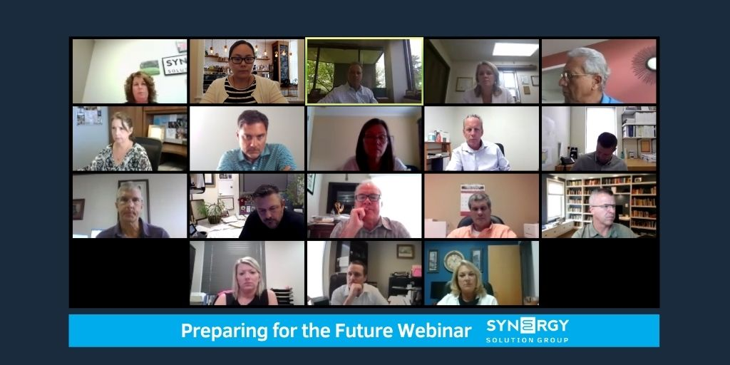Synergy Hosts Preparing for the Future Webinar