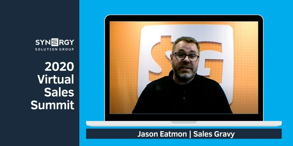 2020 Virtual Sales Summit | Jason Eatmon Sales Gravy | Prospecting Workshop