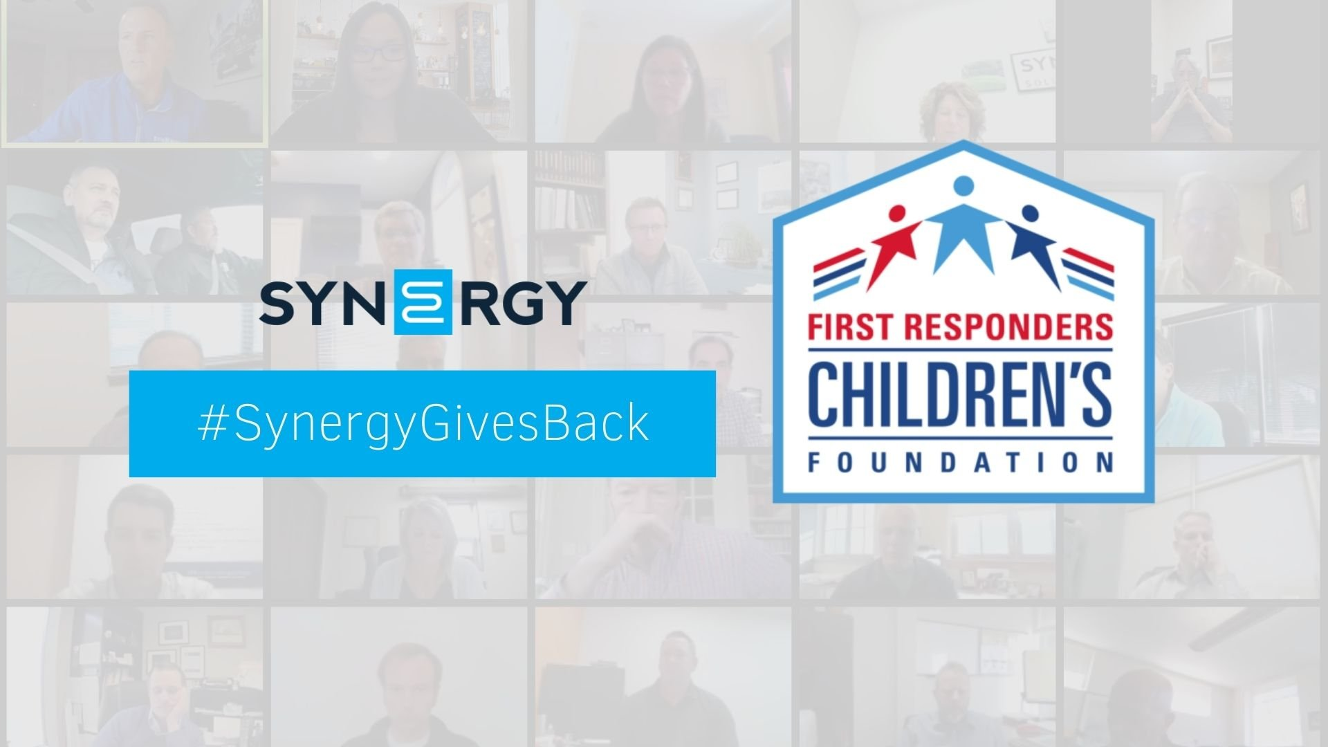 Synergy Raises Funds for First Responders Children's Foundation