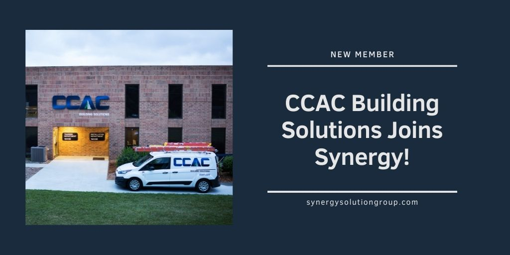 CCAC Building Solutions Joins Synergy